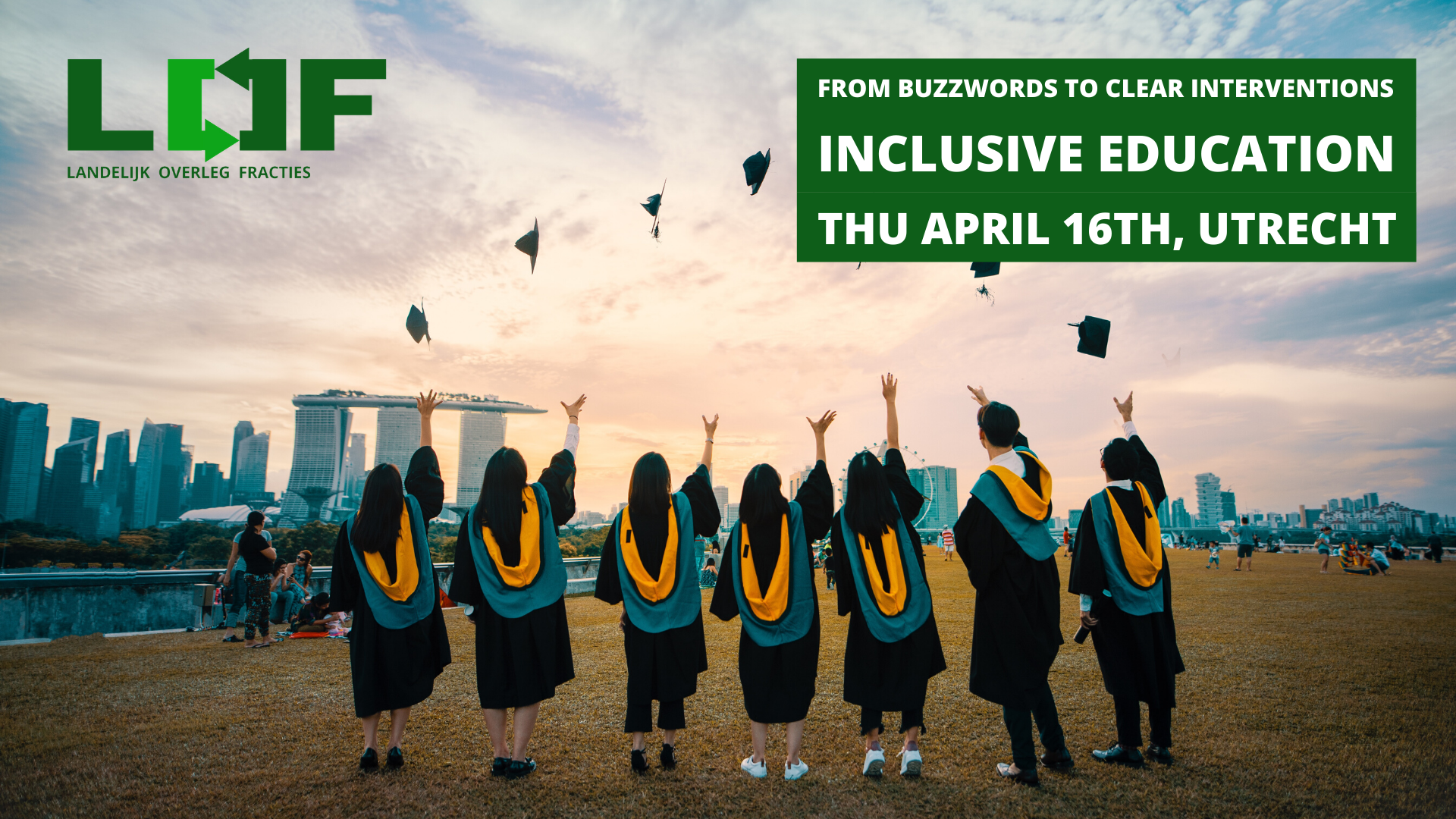 Inclusive education with Landelijk Overleg Fracties