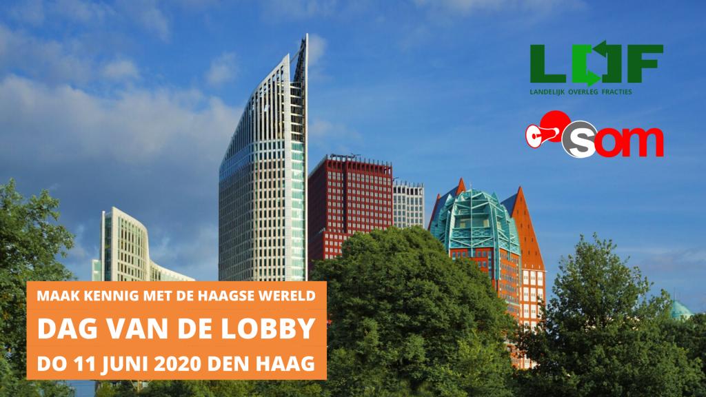 Kom naar de Dag van de Lobby op 11 juni 2020!