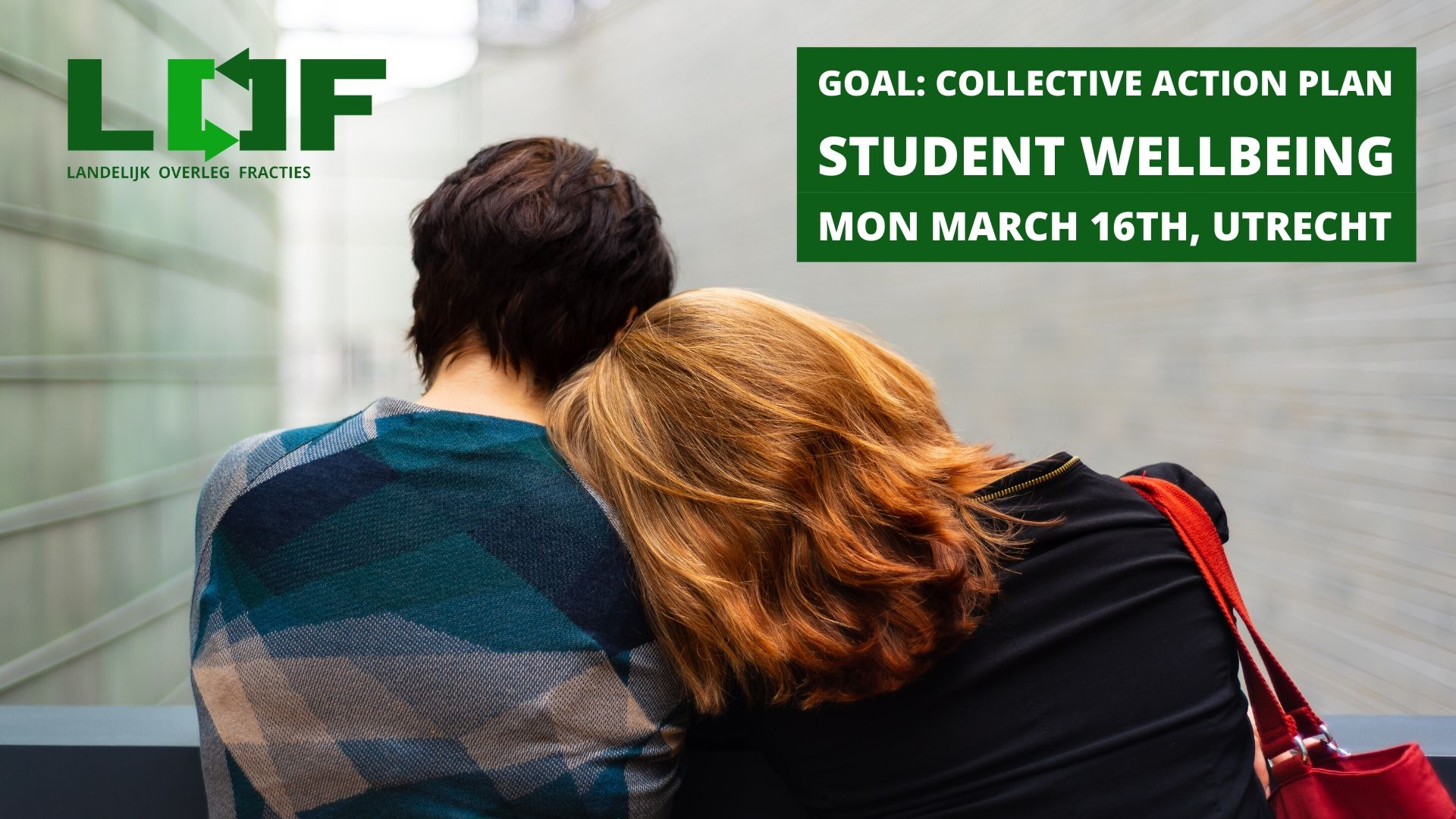 Student Wellbeing on the 16th of March
