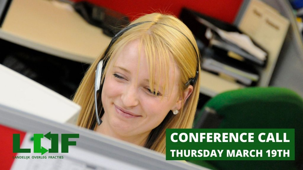 Join LOF's Councils Conference Call